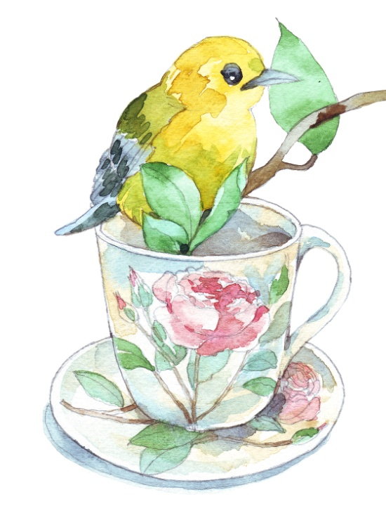 roses-tea-cup-and-a-yellow-bird-prints