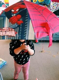 Spidey Umbrella